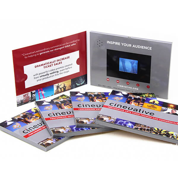 video brochure card
