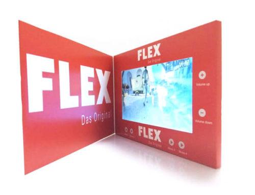 HD 4.3 inch IPS video brochure