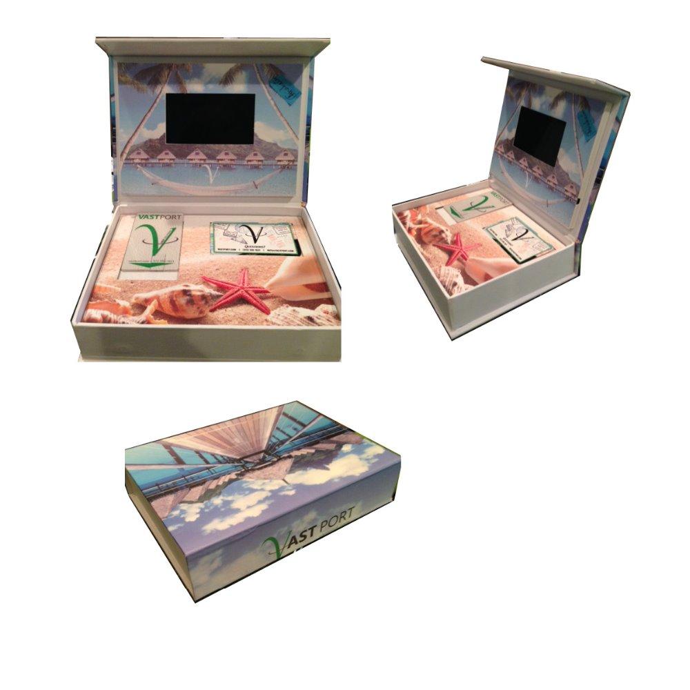 Most-popular-LCD-Video-brochure-Box-Greeting