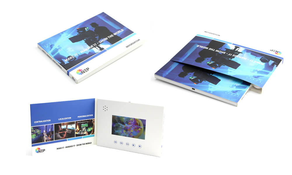 Video mailer