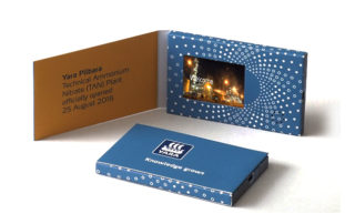 video business card 2.4inch