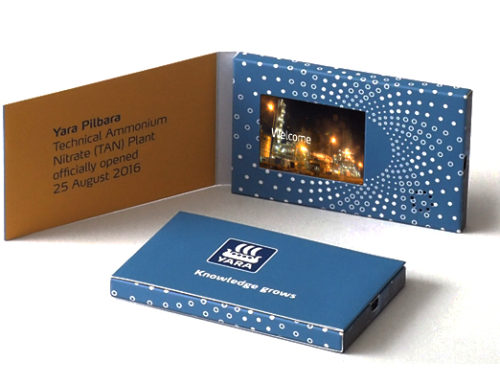 The value of video brochure mailer