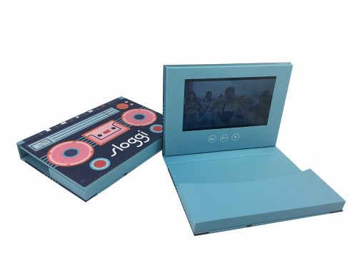 New Arrival 7 inch Video Post Card